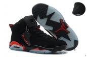 Air Jordan 6 Infrared Black Red Suede