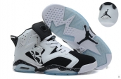 Air Jordan 6 White Black
