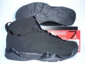 Air Jordan 7 All Black Discount Online Sale