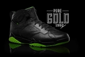 Air Jordan VII BlackNeon Green Collection