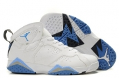 Cheap Air Jordan 7 White Blue
