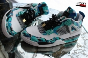 AAA Air Jordan 4 White Green Black 150