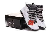 Air Jordan 10 Black White AAA