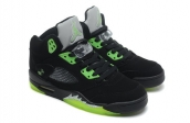 Air Jordan 5 Perfect Black Green