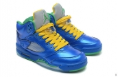 Perfect Air Jordan 5 Retro Royal Green Vert Discount
