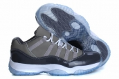 AAA Air Jordan 11 Low Cool Grey