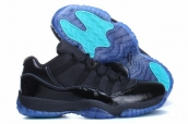 AAA Air Jordan 11 Low Gamma Blue