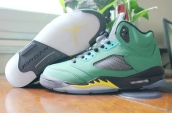 Perfect Air Jordan 5 PEs Oregon Ducks