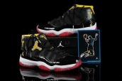 Air Jordan 11 white red yellow AAA