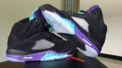 Air Jordan 5 Perfect Black Grapes