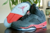 Perfect Air Jordan 5 3Lab5 Black Red