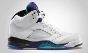 Perfect Air Jordan 5 White Grapes