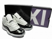 Discount Air Jordan XI White Black