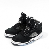 Super Perfect Air Jordan 5 Retro Oreo Black White