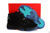 Air Jordan 11 Retro Suede Black Gamma Blue