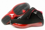 Air Jordan 18 Suede Black Red