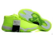 Perfect Air Jordan Future Fluorescent Green White