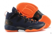 Air Jordan XX8 SE Atomic Orange Navy Blue