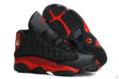 Air Jordan 13 Kids Black Red
