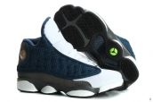 Air Jordan 13 Kids Navy Blue White Grey