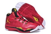 Women Jordan Superfly 2 Red Black Yellow