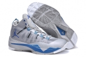 Women Jordan Superfly 2 Grey Silvery Blue