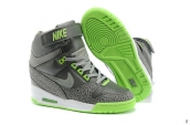 Nike Air Revolution Sky HI Women Grey Green