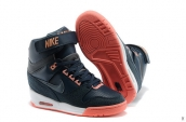 Nike Air Revolution Sky HI Women Navy Blue Orange