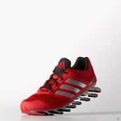 Adidas Springblade Drive Shoes Women Red Black Silvery