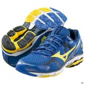 Mizuno Wave Rider 17 Blue Yellow