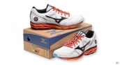 Mizuno Wave Rider 17 White Black Red