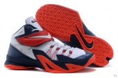 Nike Zoom Soldier VIII White Navy Blue Red