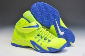 Nike Zoom Soldier VIII Fluorescent Green Blue