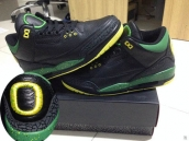 Super Perfect Air Jordan 3 Oregon Ducks The Big O 500