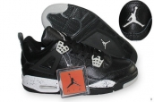 AAA Air Jordan 4 Black White