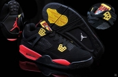 Air Jordan 4 Pirate Black Yellow Red