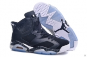 Air Jordan 6 Women Oreo Black White