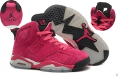 AAA Air Jordan 6 Women Suede Pink