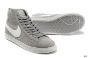 Nike Blazer High Suede Grey White