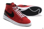 Nike Blazer High Lunar Red White Black