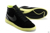 Nike Blazer High Lunar Black Yellow