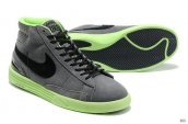 Nike Blazer High Lunar Grey Green Black