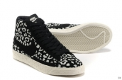 Nike Blazer High Leopard Black