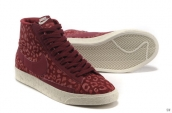 Nike Blazer High Leopard Red