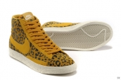 Nike Blazer High Leopard Yellow