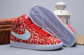 Nike Blazer High Glow In Dark Leopard Red White