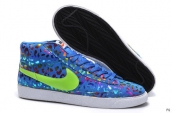 Nike Blazer High Leopard Blue Green