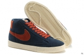 Nike Blazer High Navy Blue Orange