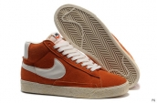 Nike Blazer High Orange White