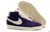Nike Blazer High Purple White